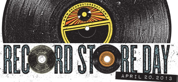 Logo banner for Record Store Day 2013