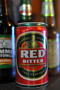 A can of Toohey's Red Bitter