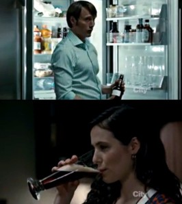 Screen caps from the TV series Hannibal