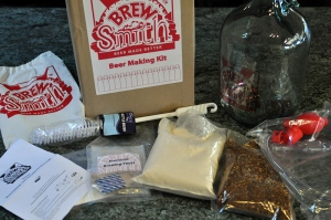 A BrewSmith Chocolate Paradise Porter kit