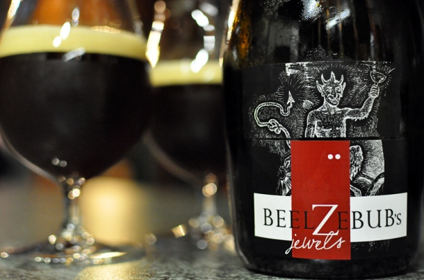 A 750ml bottle of Holgate Brewhouse Beelzebub's Jewels