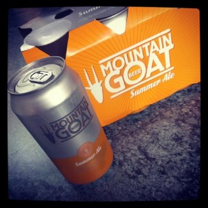 Mountain Goat Summer Ale cans 6 pack