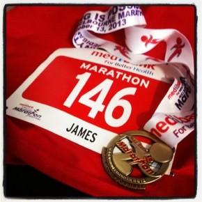 Melbourne Marathon 2013