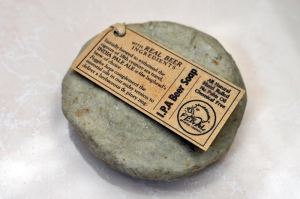 A bar of beer soap from Feral Brewing