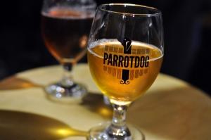 Goblet of Parrot Dog beer
