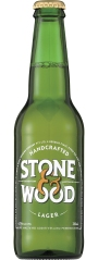 A bottle of Stone and Wood Lager